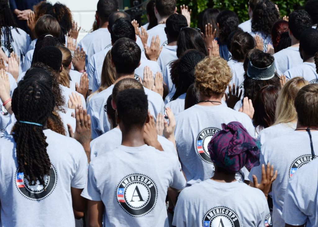 AmeriCorps Vista or AmeriCorps