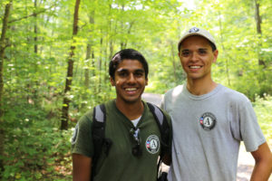 Young men in AmeriCorps