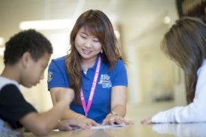 Math Corps student and tutor