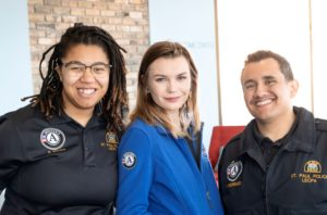 AmeriCorps members in Math Corps and LEPCA