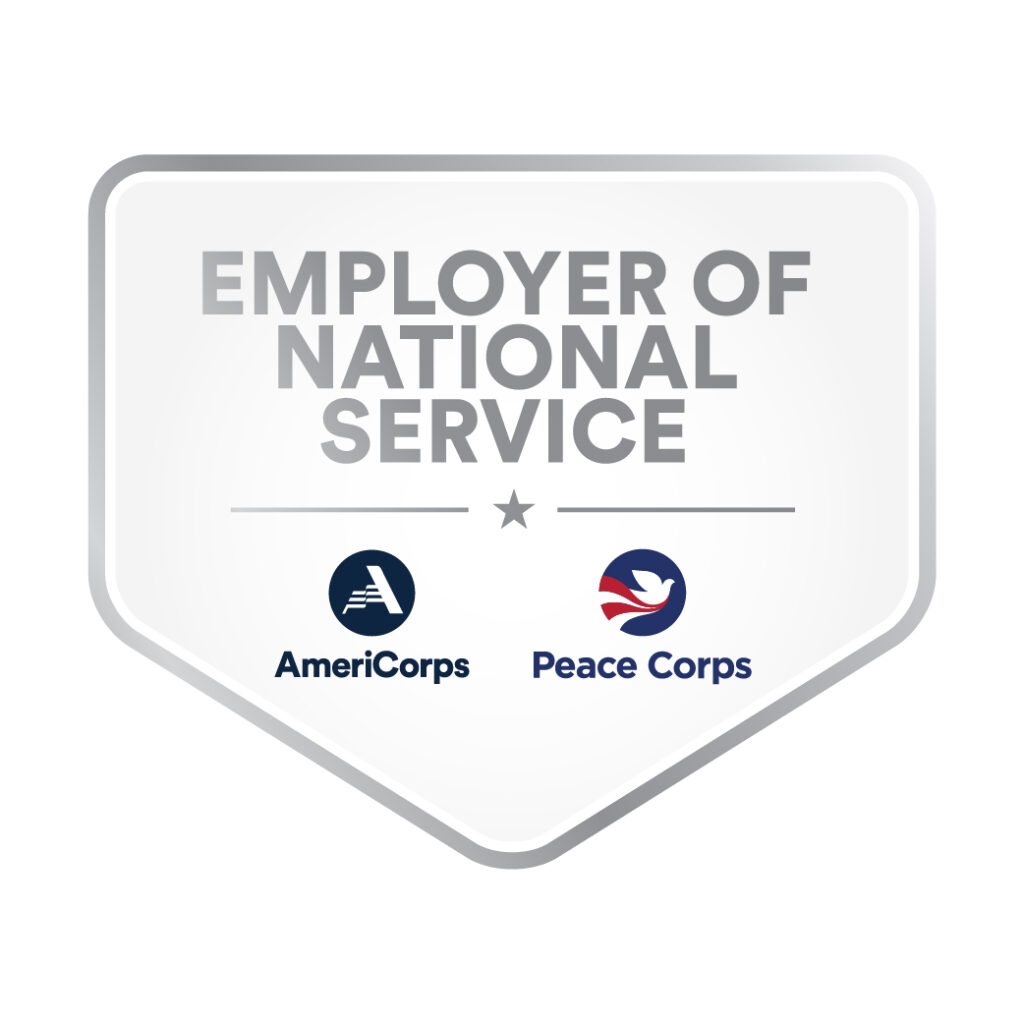 employer of national service badge